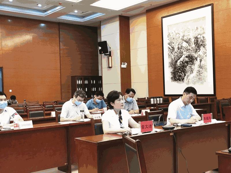 湖北省文化和旅游厅开展全省汛期文化旅游安全工作视频调度