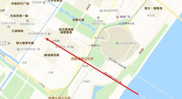 武汉地铁12号线终于要来了,江北地段即将开始施工