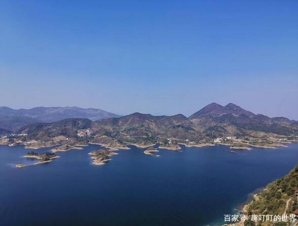 仙岛湖最佳观景攻略,来旅游一定要收好了