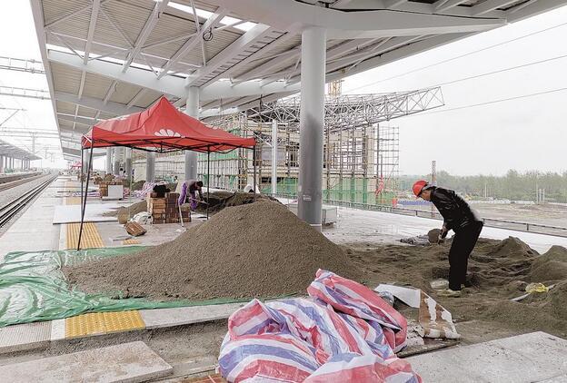 汉宜铁路仙桃支线即将完工,仙桃人民家门口就可以做动车了