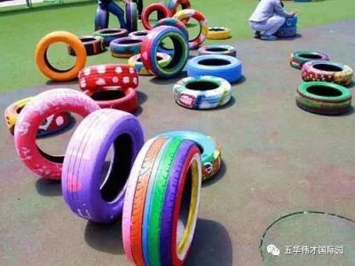 家长反映:幼儿园要求带废气轮胎上课,该游戏已叫停
