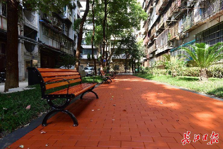 武汉口袋公园正在增加中,你住的地方有这个小公园吗?