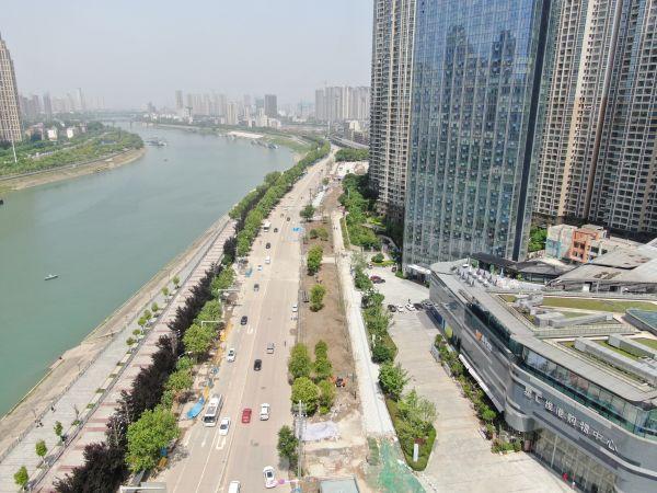 汉口沿河大道改造工程顺利完工,看一下都有哪些变化吧!