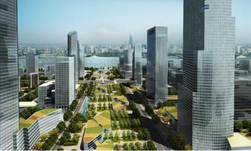 武汉长江文旅城正式开工,一个新地标的崛起