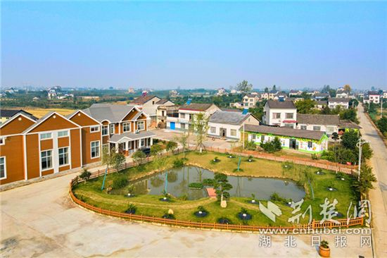 湖北枝江:建设美丽乡村项目成功