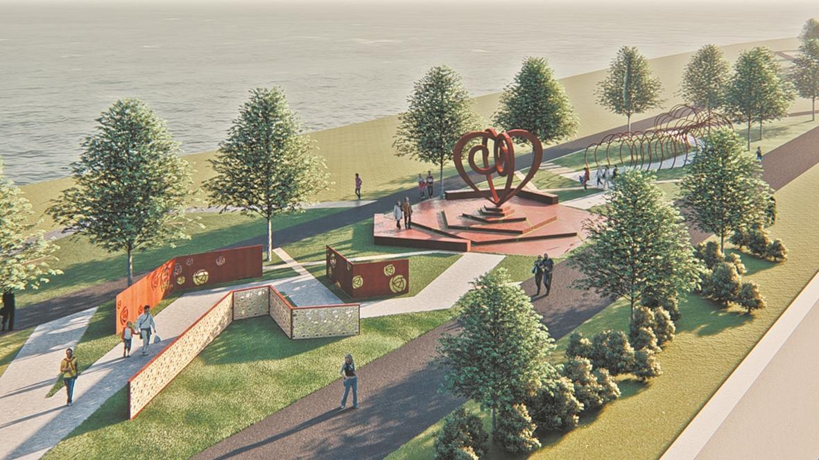 武汉江滩打造5.0理念,预计明年汛前完工