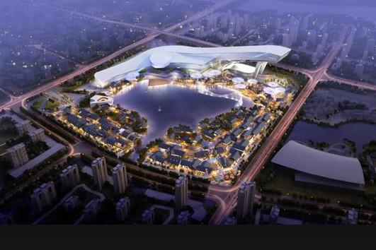 武汉:甘露山文旅城正式开工了