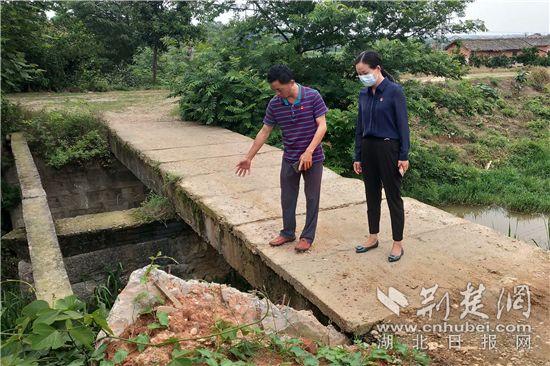 湖北枝江市:这座挡到农民发财的梅花桥肯定要修好